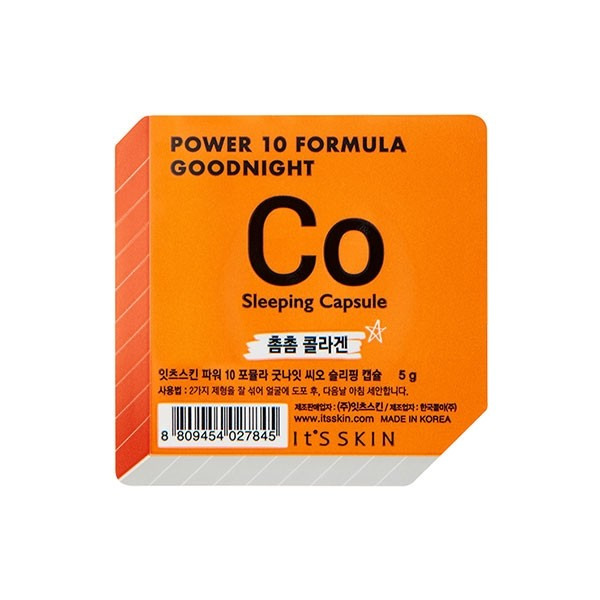 Power 10 Formula Good Night Sleeping Capsule_Co