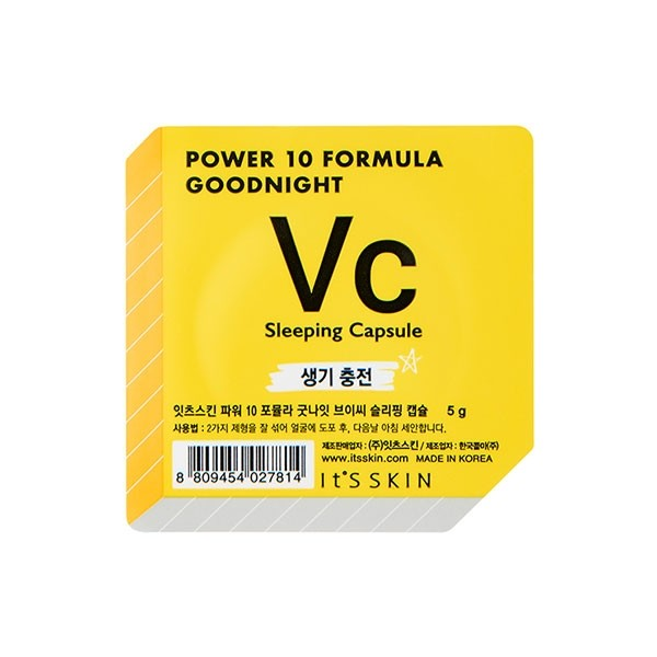 Power 10 Formula Good Night Sleeping Capsule_Vc