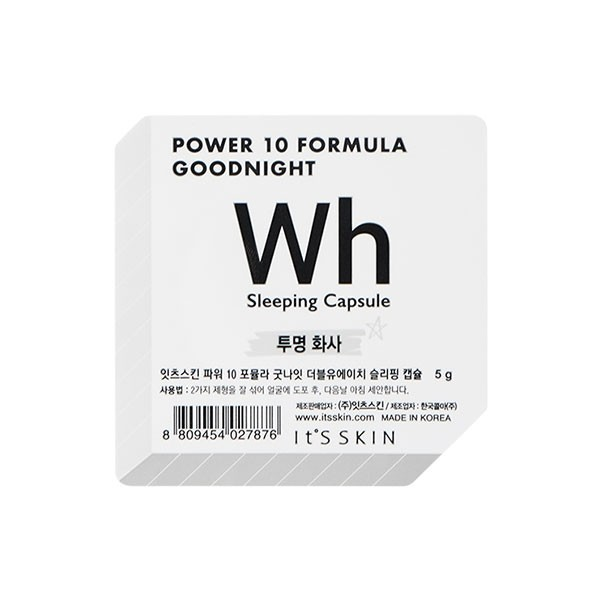 Power 10 Formula Good Night Sleeping Capsule_Wh