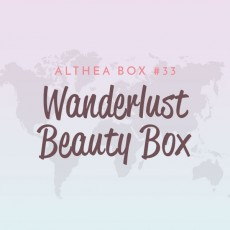 [Althea Box] Wanderlust Beauty Box