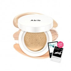 Abib Osmopur Cushion Compact 02+Milk Sticker+Madeca Sticker
