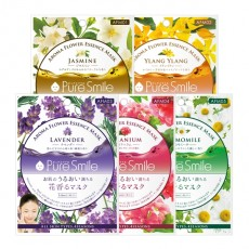 Aroma Flower Essence Mask Set_5 sheets