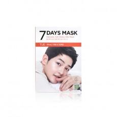 7DAYS MASK TUE Volcanic Ash Detox Silk Mask