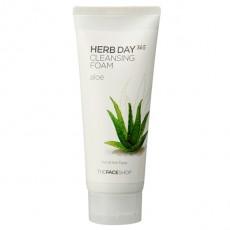 [1+1 DAEBAK] Herb Day 365 Cleansing Foam Aloe