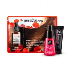 [Little Mermaid Hair Styling Set] Argan Rose Steam Pack+CP-1 Color Treatment+Perfect Serum Rose