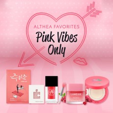 [Althea Favorites] Pink Vibes Set