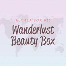 [Althea Box] Wanderlust Beauty Box
