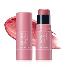 [Blushed Beauty] Saemmul Cream Stick Blusher_PK02. Rose Fire