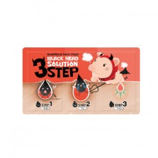 Black Head Solution 3-Step Nose Pack