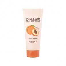 [Althea Magazine #5] Peach & Seed Jelly Body Scrub (200g)