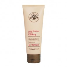 Clean Face Acne Solution Foam Cleansing