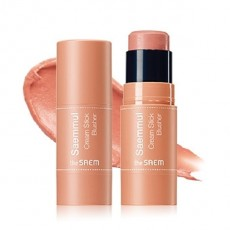 Saemmul Cream Stick Blusher_CR01. Coral Ending