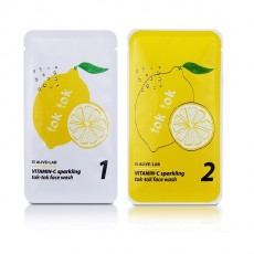 [Seoul Beauty Trends_Jan] Vitamin-C Sparkling Face Wash Set (13g,17g)