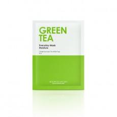 [5+5 DAEBAK] Everyday Mask Green Tea (5 Sheets)
