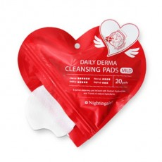 Nightingale Cleansing Pad Heart Pouch_20ea