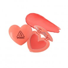 3CE Heart Pot Lip_#Coral