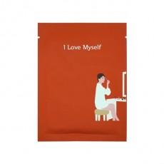 Message Printed Mask_I Love Myself