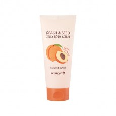 [Althea Magazine #5] Peach & Seed Jelly Body Scrub (200g)