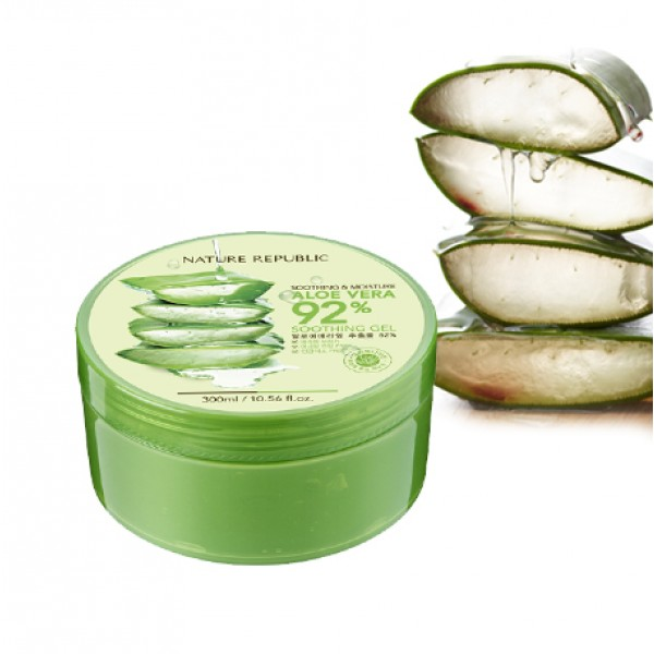 Buy Nature Republic Aloe Vera 92 Soothing Gel Online At