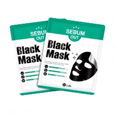 [Clearance] SEBUM-OUT Black Mask_Single