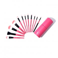Pink in Pink Make Up Brush Set (12p) Color Changed