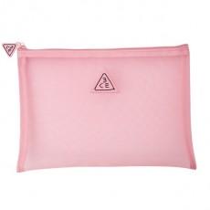 [Seoul Beauty Trends_Dec] 3CE Pink Rumour Mesh Pouch