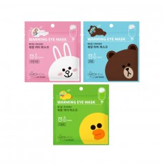 Line Friends Warming Eye Mask_01. Single Sheet