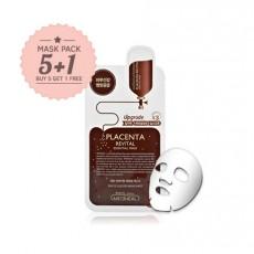 Placenta Revital Essential mask-Set(Buy 5 get 1 free)