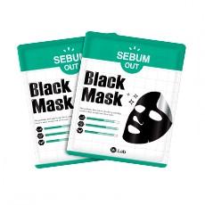 [W.lab Brand Day] SEBUM-OUT Black Mask_Single