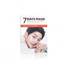 [Clearance] 7DAYS MASK TUE Volcanic Ash Detox Silk Mask