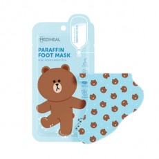 Line Friends Paraffin Foot Mask_01. Single Sheet