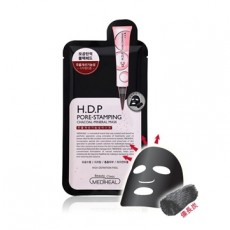 H.D.P_Pore-Stamping Charcoal Mask-Single Sheet