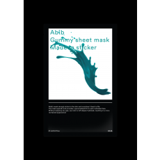 ABIB GUMMY SHEET MASK MADECA STICKER