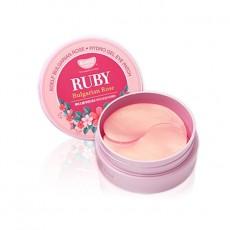 Ruby & Bulgarian Rose Eye Patch