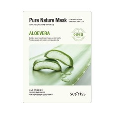 [After Cleansing] Pure Nature Mask Aloevera_02. Set (10 Sheets)