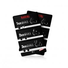 [W.lab Brand Day] BLACK KILL 3 Step Nose Pack (6g -1 Sheet)