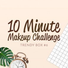 [Trendy Box] 10 Minutes Make Up  Box
